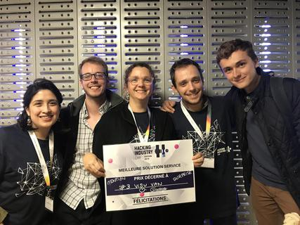 RESULTATS DU HACKING INDUSTRIE CAMP 2019